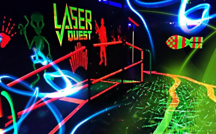 LaserQuest Fundraiser